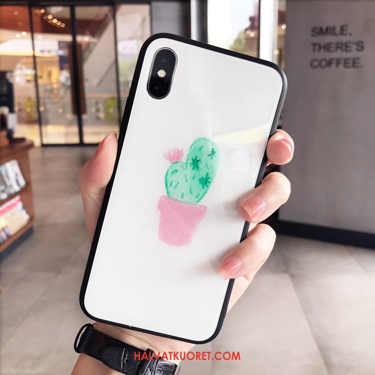 iPhone X Kuoret Pieni Lasi Ripustettavat Koristeet, iPhone X Kuori All Inclusive
